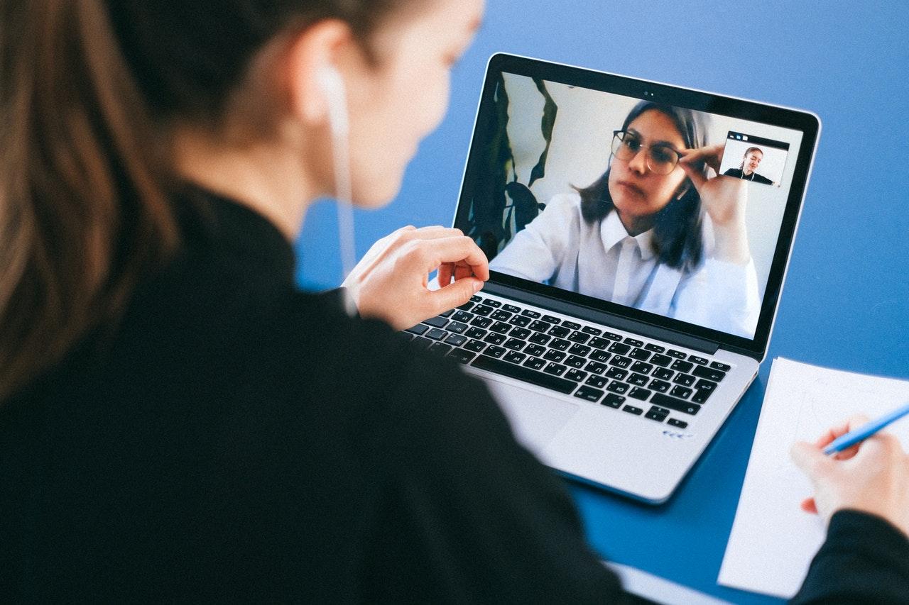 Online-samtale